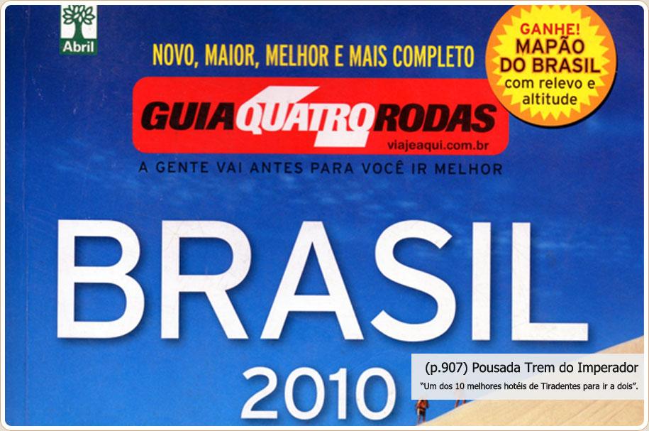 Guia 4 Rodas 2010 - Ano de 2010
